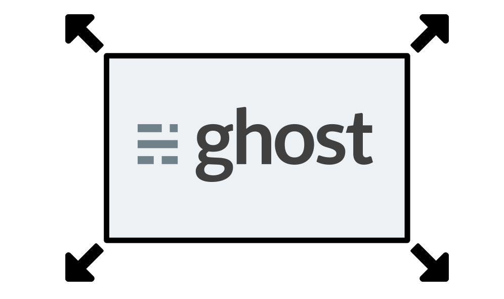 How to resize images on Ghost