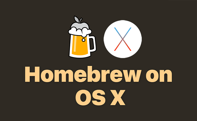 Installing applications on Mac like Linux with Homebrew